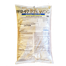 PFR-97 20% WDG Microbial Insecticide, OMRI Listed, Certis USA