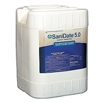 SaniDate 5.0 Sanitizer Disinfectant, OMRI Listed, 5 Gals.